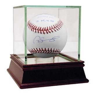 Gary Sanchez Baseball w 2016 Rookie Season 20HR 42 RBI Insc