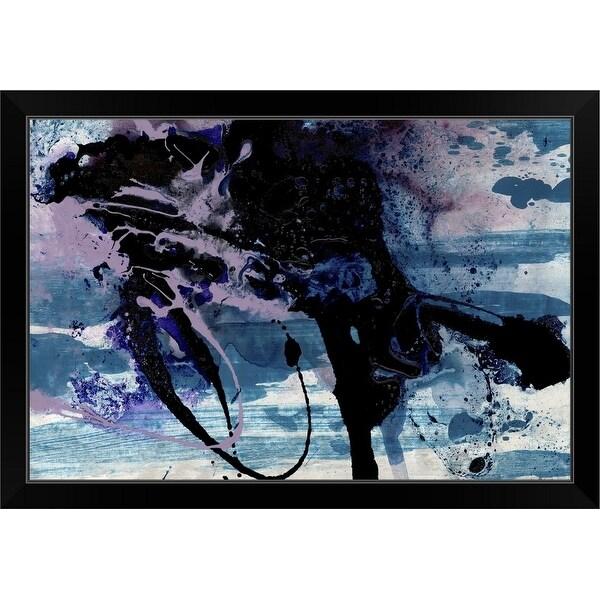 """KOO115A"" Black Framed Print"