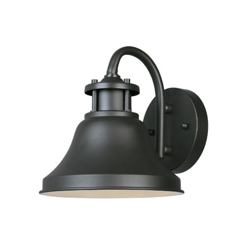 """Designers Fountain 31311-BZ 1 Light 7"""" Wall Lantern from the Bayport Collection"""