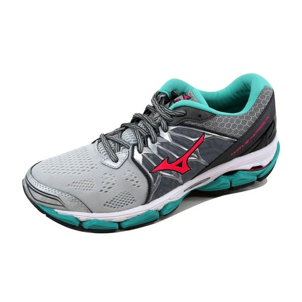 Mizuno Women's Wave Horizon Black/White-Dark Grey-Wolf Grey J1GD172660 Size 10.5