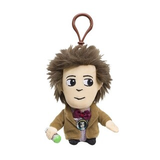 "Doctor Who 4"" Matt Smith Talking Plush Clip On - multi"