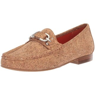 Donald J Pliner Womens suzy-co Closed Toe Loafers - Cork