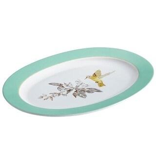 BonJour Dinnerware Fruitful Nectar Porcelain 10 X 14 in. Oval Platter