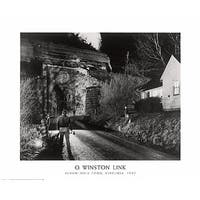 ''Seven Mile Ford, Virginia 1957'' by O. Winston Link Transportation Art Print (24 x 30 in.)
