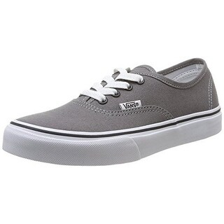 Vans Kids Uy Authentic, Pewter/Blk, 1.5