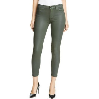 Joe's Jeans Womens The Icon Ankle Jeans Coated Skinny