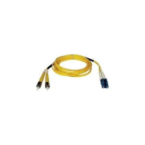 Tripp Lite N368-02M Tripp Lite Duplex Singlemode 8.3/125 Fiber Patch Cable - (LC/ST), 2M (6-ft.)