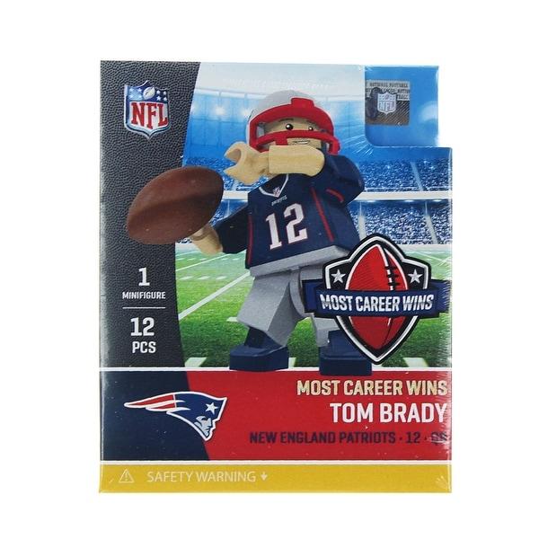 "New England Patriots Tom Brady ""All Time Wins Edition"" OYO Sports Minifigure - multi"