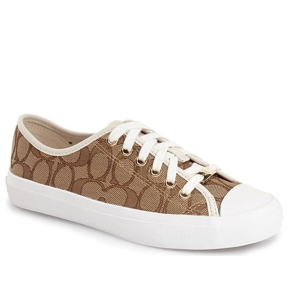 Coach Womens Empire Signature C Low Top Lace Up Fashion Sneakers
