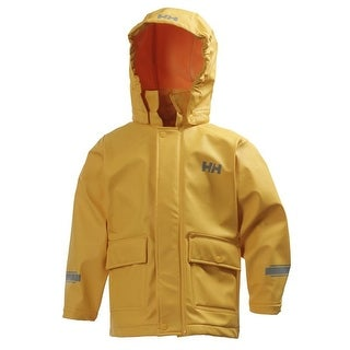 Helly Hansen 2018 Kid's Juell PU Rain Jacket - 40998 - young yellow