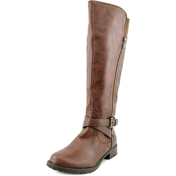 G By Guess Halsey Wide Calf Women Round Toe Synthetic Knee High Boot