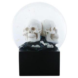 YTC SUMMIT 8680 LED Skull Heads Water Globe - 110 mm.