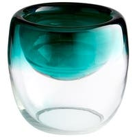 Cyan Design Large Abyssal Bowl Abyssal 8.5 Inch Diameter Glass Decorative Bowl - n/a