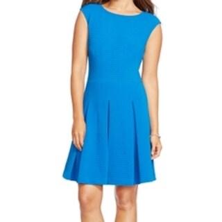 American Living NEW Blue Royal Women's Size 16 Pleated Sheath Dress