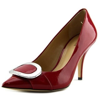 Michael Michael Kors Pauline Pump Women Pointed Toe Patent Leather Heels