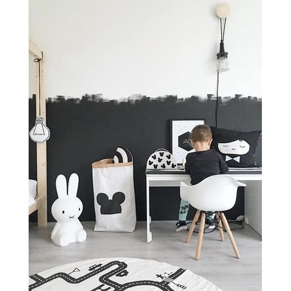 Shop 2xhome Set of 2 Black Plastic Chairs With Arms Armchair ...