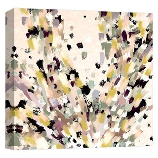 """PTM Images 9-124683  PTM Canvas Collection 12"""" x 12"""" - """"Earth Abstract Splash"""" Giclee Abstract Art Print on Canvas"""