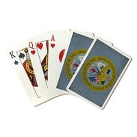 Department of the Army - Military - Insignia  (Poker Playing Cards Deck)