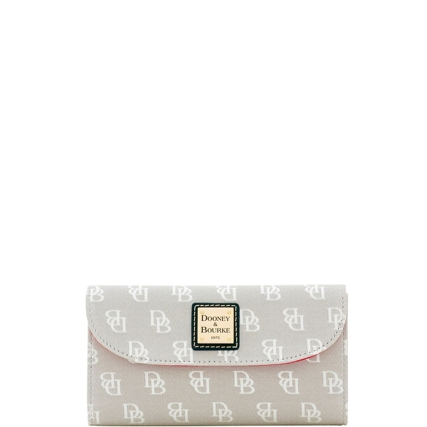 Dooney & Bourke Madison Signature Continental Clutch Wallet (Introduced by Dooney & Bourke at $118 in Jan 2018)