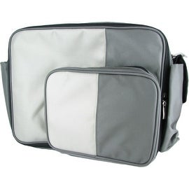 O Yikes Grey Messenger XL Bag