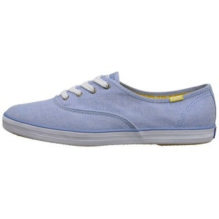 Keds Womens CHAMPION Canvas Hight Top Lace Up Fashion Sneakers