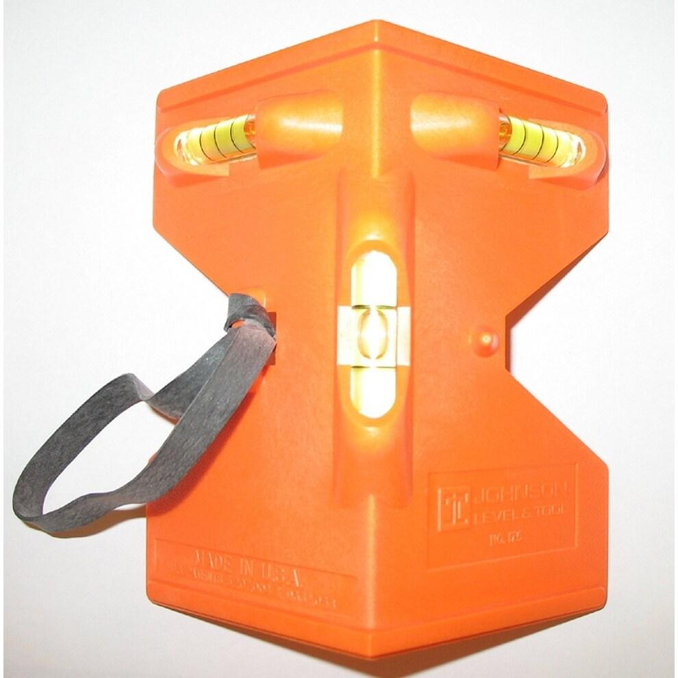 Johnson Level 175-O Glo-Orange Contractor Post Level