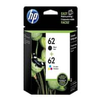 HP 62  Black & Tri-Color Original 2 Ink Cartridges (N9H64FN)(Single Pack)