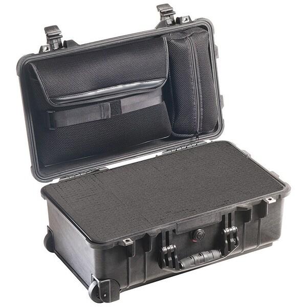 Pelican 1510-008-110 Laptop Overnight Case - With Foam In Base Black