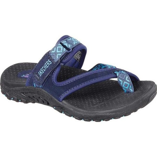 06501b15be01 Shop Skechers Women s Reggae Trailway Sandal Navy - Free Shipping On ...