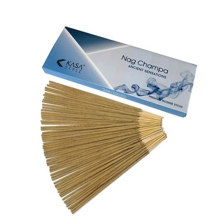 Kasa Style Ancient Sensations - Premium Incense Sticks - 100gr - 100% Natural No Chemicals - 1 Hour Burning - 100 Grams
