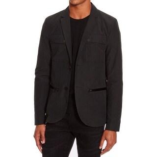 Kenneth Cole Reaction NEW Black Mens Size Large L Slim Blazer Jacket