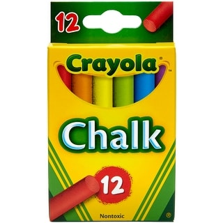 Crayola Chalk-Assorted Colors 12/Pkg