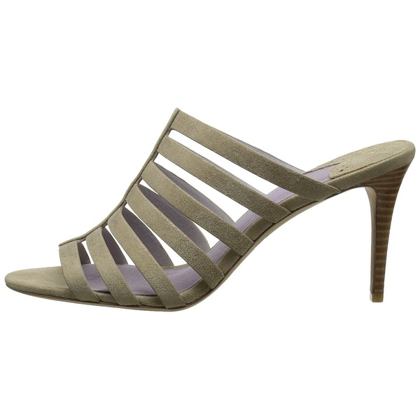 Johnston & Murphy Womens Sally Suede Open Toe Casual Strappy Sandals