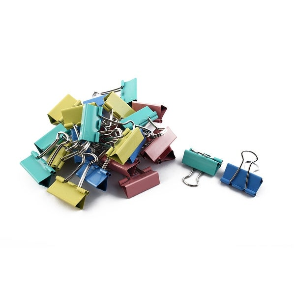 Shop Office Metal File Document Paper Binder Clips Clamps