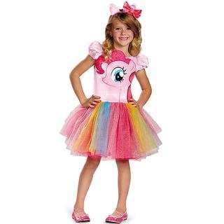 Disguise Pinkie Pie Tutu Prestige Child Costume - Pink