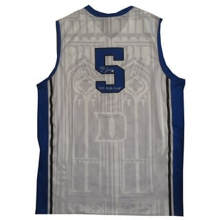 Tyus Jones Autographed Duke Signed Basketball Jersey 2015 NCAA CHAMPS Steiner Sports COA