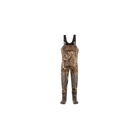 LaCrosse Super Brush Tuff Realtree Max-5 Chest Wader w/ Armor Weld - Size 10