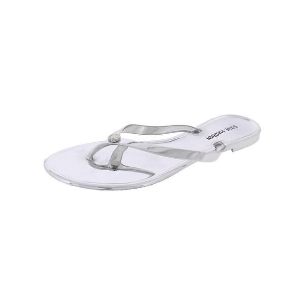 Steve Madden Womens Sundae Flip-Flops Open Toe Casual