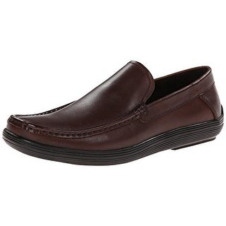 Kenneth Cole Mens Drive Me Crazy Leather Casual Loafers