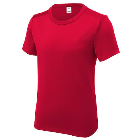 Gravity Threads UV Protection Poly Pro Youth Tee