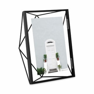 """Umbra 313015  Prisma 9"""" x 7"""" Steel Free Standing Picture Frame"""
