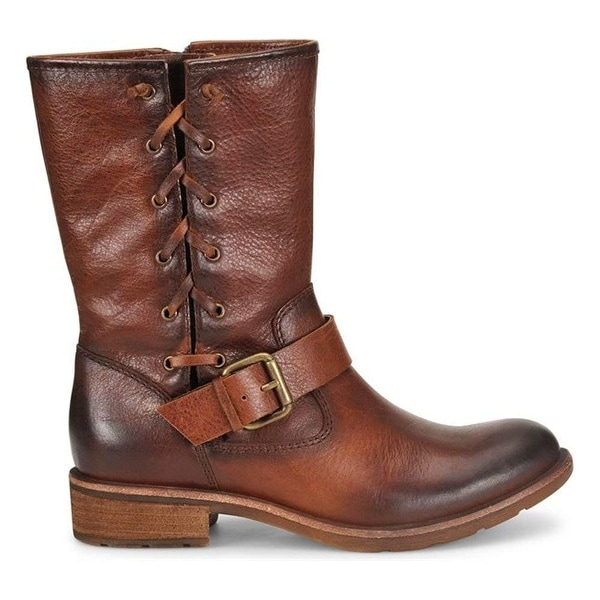 Sofft Womens BELMONT Leather Round Toe Mid-Calf Fashion Boots
