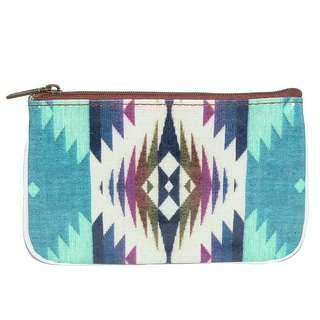 Mlavi Women's Blkan Print Faux Leather Coin Purse Wallet - One size