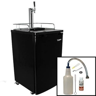 EdgeStar KC2000CLEAN 20 Inch Wide Kegerator and Keg Beer Cooler for Full Size Ke