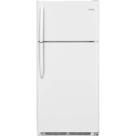 Frigidaire FFTR1814TW 18 Cu. Ft. Top Freezer Refrigerator - White
