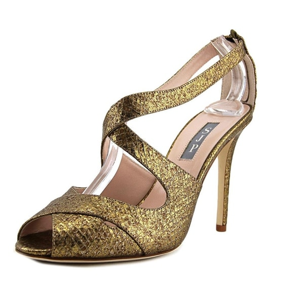 SJP Petra Women Gold Snake Sandals