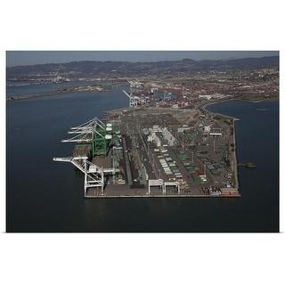 """Oakland harbor"" Poster Print"