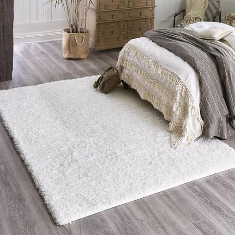 Unique Loom Zuniga Solid Shag Area Rug