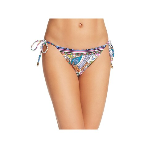 Trina Turk Womens Printed Bikini Swim Bottom Separates