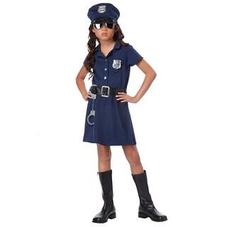 Girls Police Officer Costume